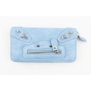 """Wallet """"Buckle"""" blue"""