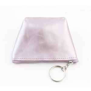 "Purse key ring ""Shiny"" purple"