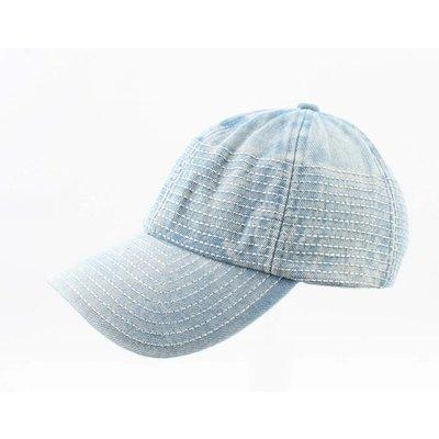 """Cap """"Denim"""" lichtblauw"""