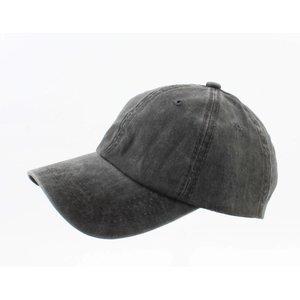 "Cap ""Washed denim"" black"