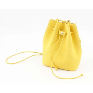 """Pouch """"string"""" yellow"""