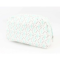 "Toilet bag ""Cactus"" mint green"