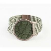 "Armband ""Kiana"" groen"