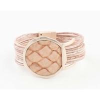 "Bracelet ""Kiana"" old pink"