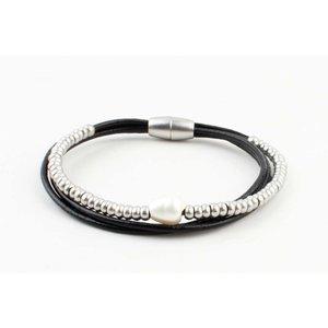 """Armband """"Ranomi"""" zwart"""