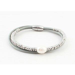 "Armband ""Ranomi"" grau"