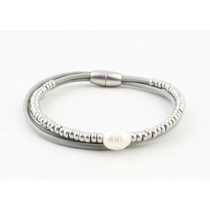 """Armband """"Ranomi"""" grijs"""