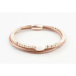 "Bracelet ""Ranomi"" rosé"