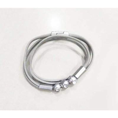 "Bracelet ""Vanity"" light grey"