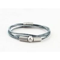 """Armband """"Ebenezer"""" vintage blau"""