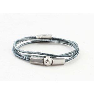 "Bracelet ""Ebenezer"" vintage blue"