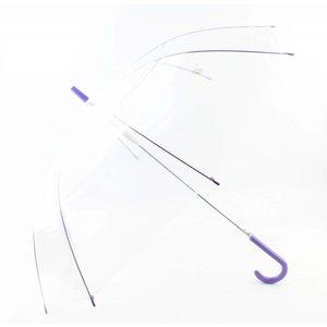 """Regenschirm """"transparent"""" lila"""
