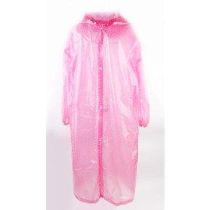"Rain jacket ""Dots"" fuchsia"