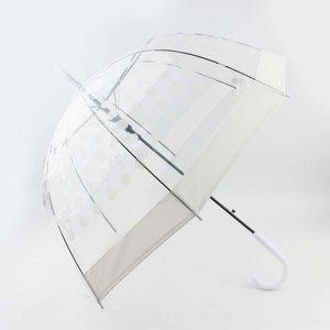 "Regenschirm ""Dots"" weiß"