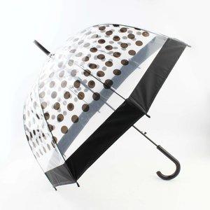 """Regenschirm """"Dots"""" schwarz"""