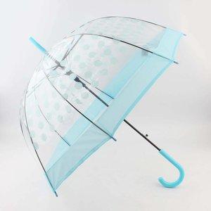"""Regenschirm """"Dots"""" Licht blau"""