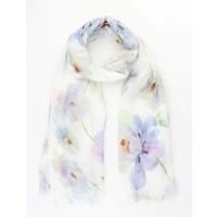 """Sjaal """"Pastel flower"""" lila"""