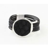 """Armband """"Kiana"""" zwart"""