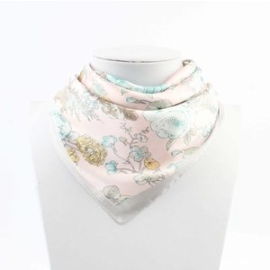 "Bandana ""Asian flower"" pink"