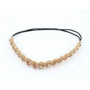 """Stirnband """"Gold"""" gold/braun"""