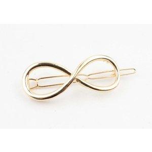 """Haarspeld """"Infinity"""" goud"""
