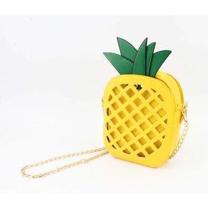 "Crossbody ""Pineapple"" geel"