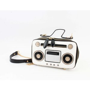 "Cross body ""Radio"" white"