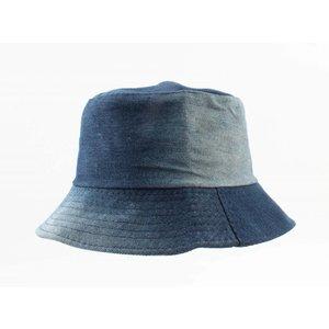 "Zonnehoed ""Denim"" blauw"