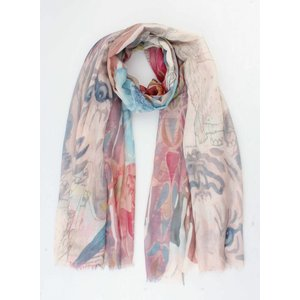 """Scarf """"Lion"""" taupe"""