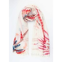 """Scarf """"Indian"""" red"""