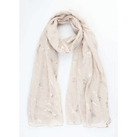 """Scarf """"Dragonfly"""" taupe"""