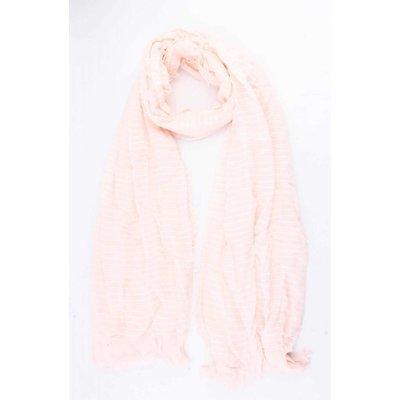 """Schal """"Streifen"""" rosa"""