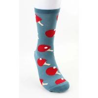 """Men's socks """"Ping pong"""" blue"""