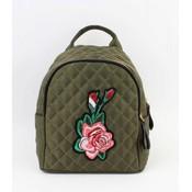 """Mini backpack """"Rose"""" kakhi Green"""