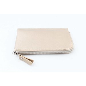 "Clutch ""Zipper"" metallic gold"