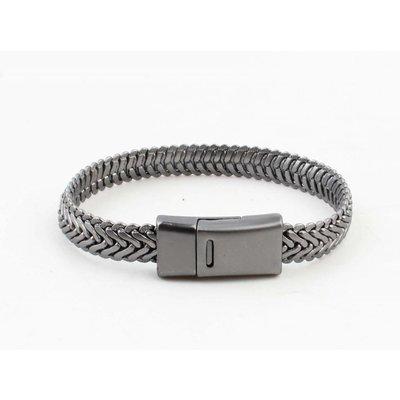 "Metal bracelet ""Ilana"" anthracite"