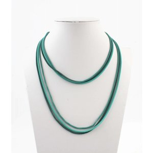 """Necklace """"Saints"""" green"""