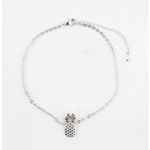 "Anklet ""Pineapple"" silver"