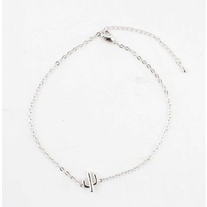 """Anklet """"Cactus"""" silver"""