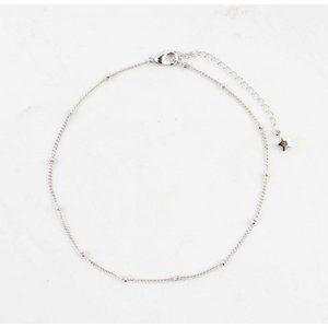 "Anklet ""Rounds"" silver"