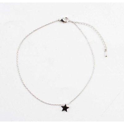 "Anklet ""Star"" silver"