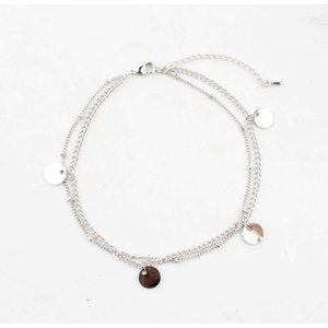 "Anklet ""Coins"" silver"