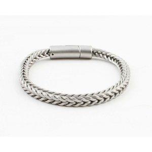 """Armband """"Noé"""" matt silber"""