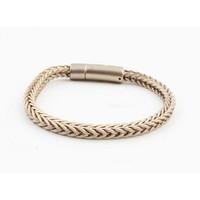 """Bracelet """"Noé"""" mat gold"""