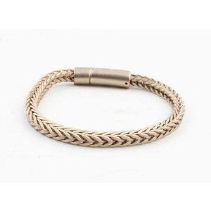 """Armband """"Noé"""" mat goud"""