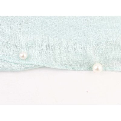 "Schal ""Happy Summer Pearls"" mintgrün"