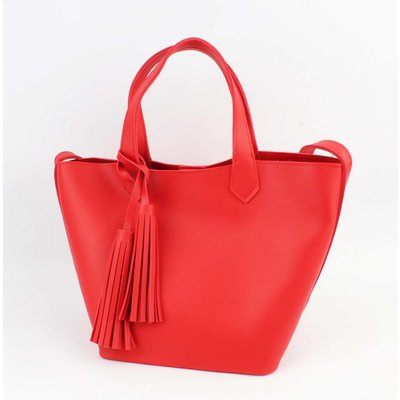 "Handtasche ""Ilka"" rot"