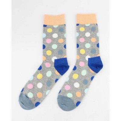 """Herren Socken """"Crazy Dots"""" gelb"""