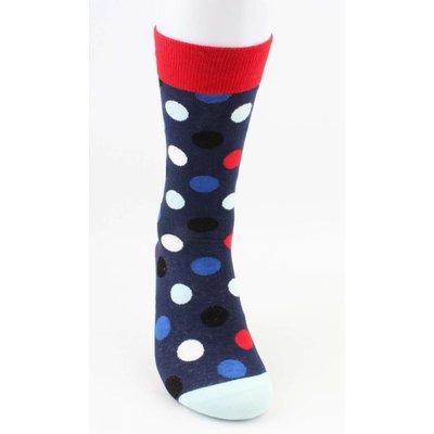 """Herren Socken """"Crazy Dots"""" rot"""