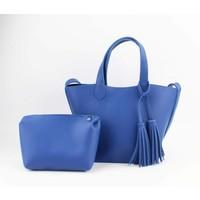 "Handtas ""Ilka"" kobalt blauw"